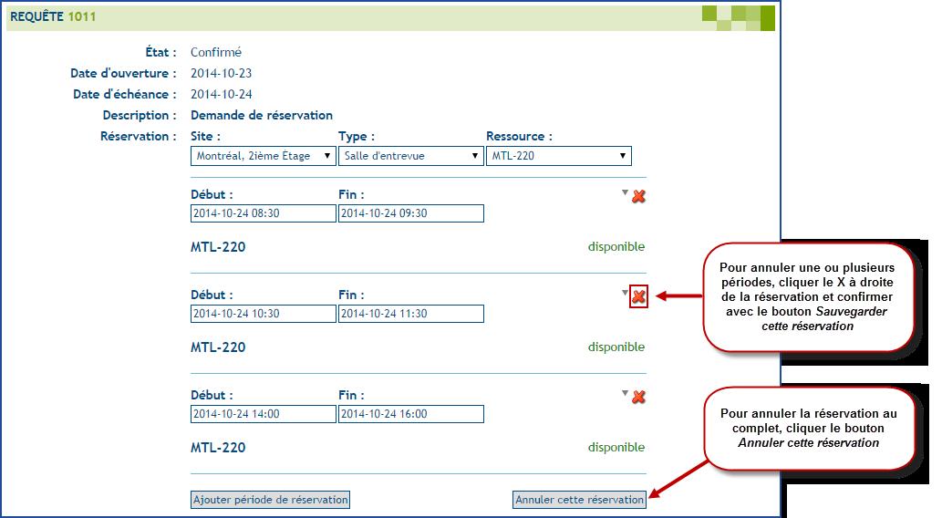 Gestion des r servations doc octopus for Reserver sur booking